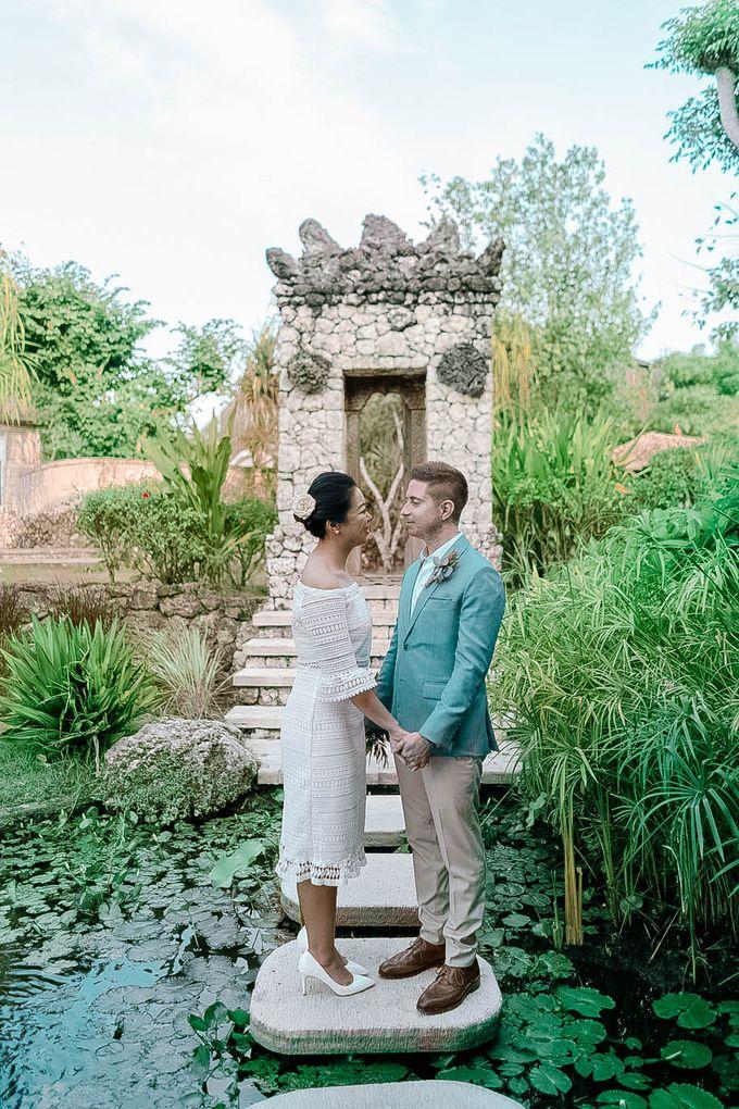 Wedding at Bayuh Sabbha in Uluwatu by Bali Tie d' Knot - 009