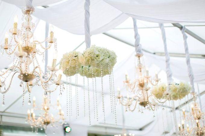 White Green and Gold Elegant Wedding at Latitude Villa by Flora Botanica Designs - 032
