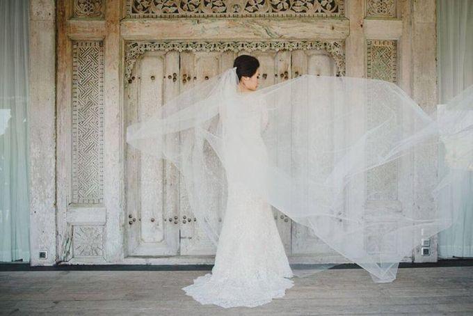 Steven & Aie Enchanted Garden Wedding by Flying Bride - 006
