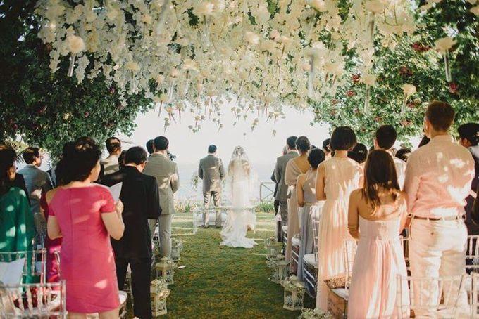Steven & Aie Enchanted Garden Wedding by Flying Bride - 028
