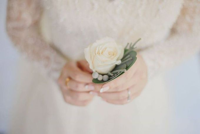 Steven & Aie Enchanted Garden Wedding by Flying Bride - 015