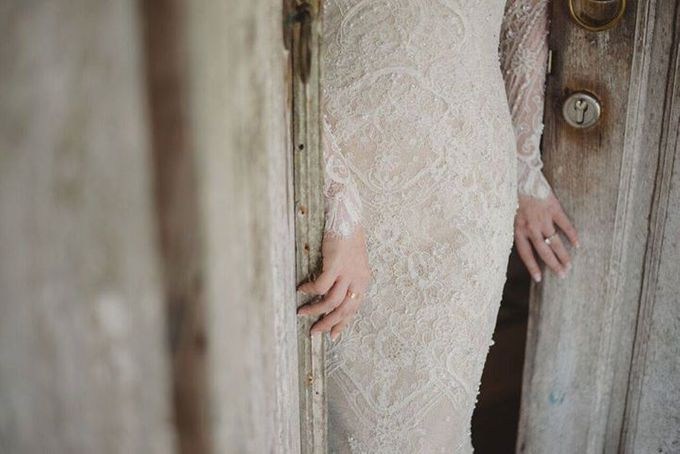 Steven & Aie Enchanted Garden Wedding by Flying Bride - 005
