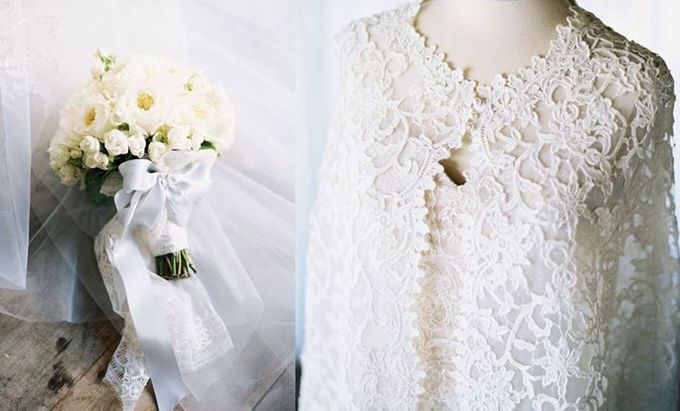 Steven & Aie Enchanted Garden Wedding by Flying Bride - 009