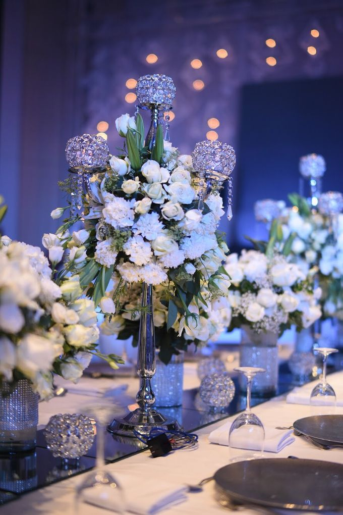 Reception Styling by Natural Art Flowers and Decors - 021