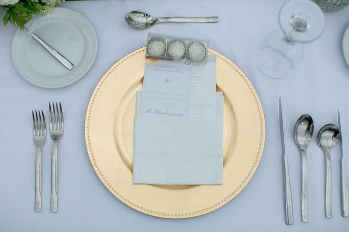White Green and Gold Elegant Wedding at Latitude Villa by Flora Botanica Designs - 018