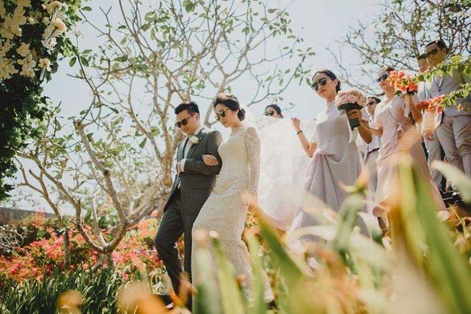 Steven & Aie Enchanted Garden Wedding by Flying Bride - 020