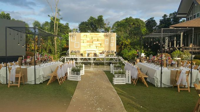 Rustic and A Hundred Drop Lights. by Eye Candy Manila Event Styling Co. - 009
