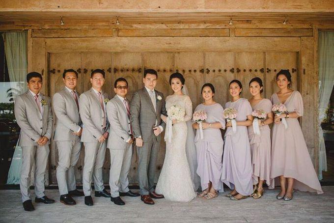 Steven & Aie Enchanted Garden Wedding by Flying Bride - 019