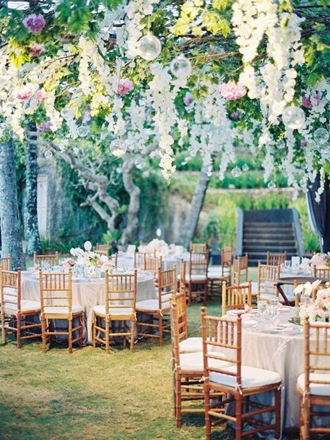 Steven & Aie Enchanted Garden Wedding by Flying Bride - 037