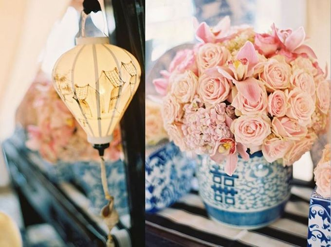 Steven & Aie Enchanted Garden Wedding by Flying Bride - 023
