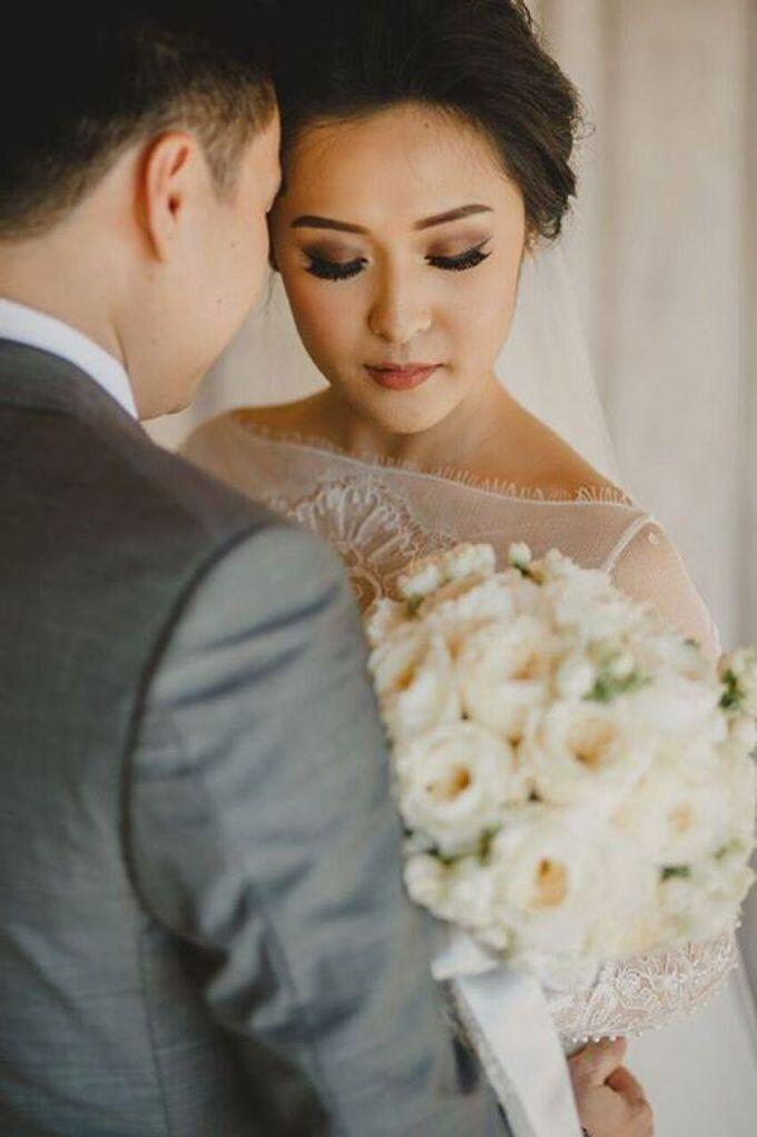 Steven & Aie Enchanted Garden Wedding by Flying Bride - 016