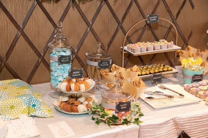 Victor and Verrie's Wedding by The Lair Weddings Candy Bar - 001