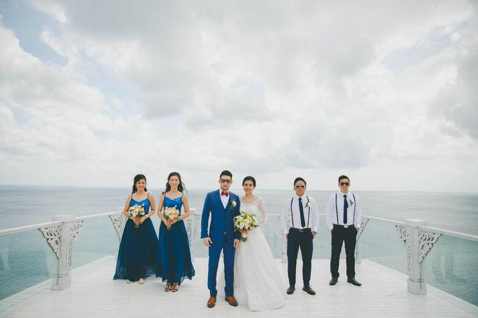 RUSTIC WEDDING DAVID AND JOICE IN SKY AYANA BALI by W organizer - 021
