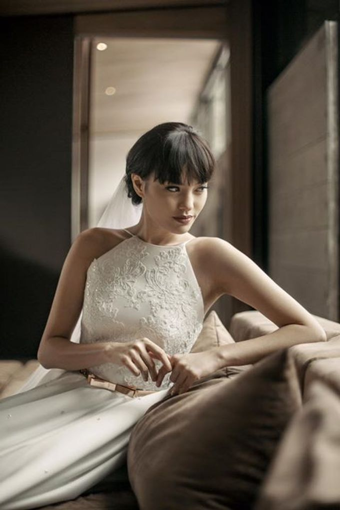 Mellifluous Marmoreal Spring Summer 2016 Bridal Collection by Bramanta Wijaya Sposa - 001