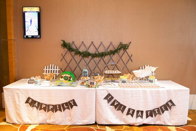 Victor and Verrie's Wedding by The Lair Weddings Candy Bar - 006