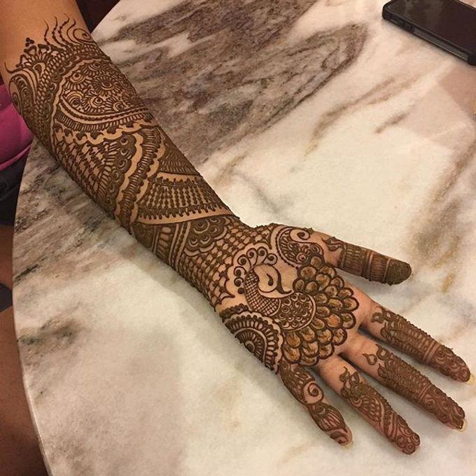 Bridal Henna - Intricate by Nakreze Mehndi - 031