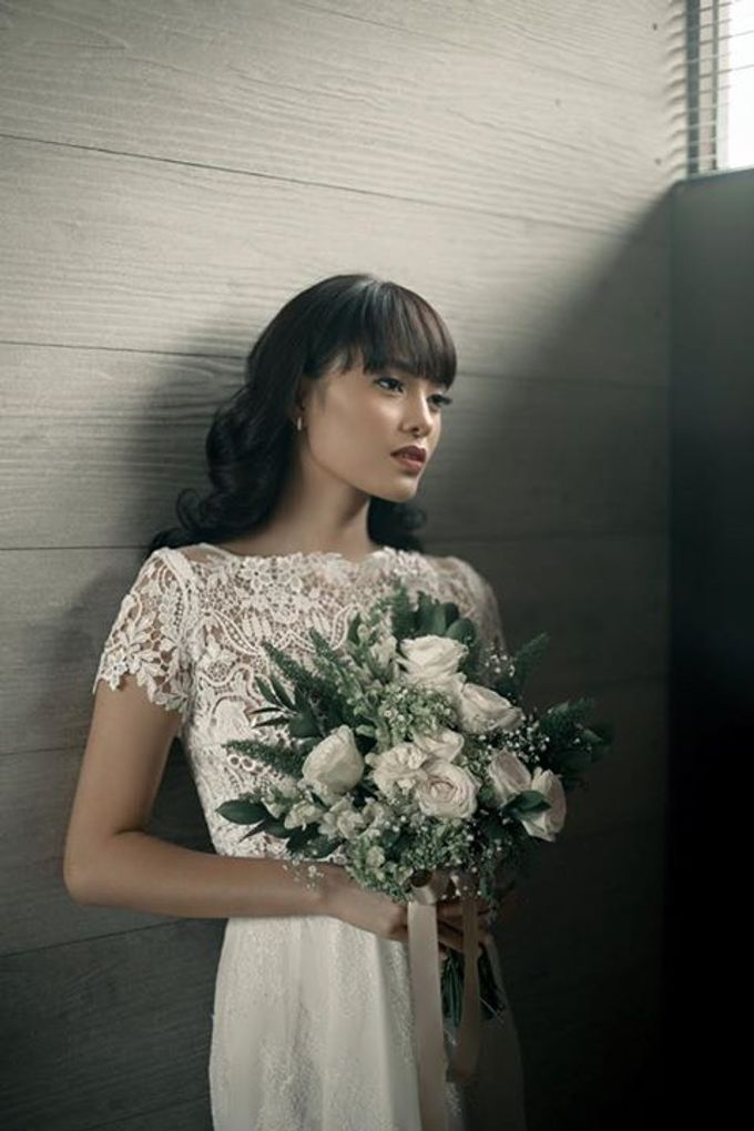 Mellifluous Marmoreal Spring Summer 2016 Bridal Collection by Bramanta Wijaya Sposa - 019