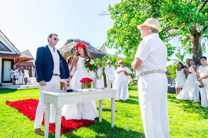Catherine & Leonardo Destination Wedding in Private Villa by Jennifer C  Wedding & Event Agency - 009