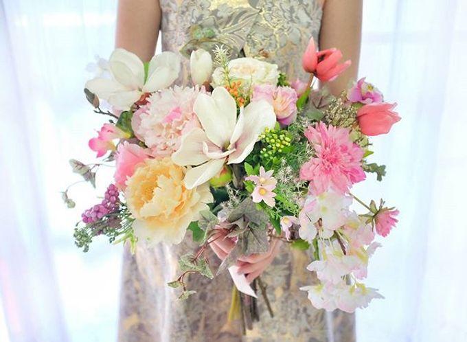 CHARME FAUX BOUQUET by LUX floral design - 024
