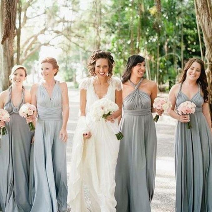 Convertible Bridesmaid Dress by The White Gallery - 008