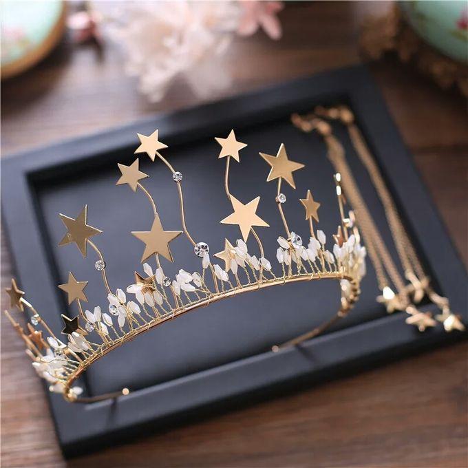 Fiora Wedding Crown Headpiece by Fairytale Undercover - 004
