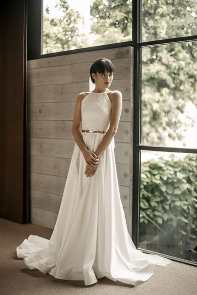 Mellifluous Marmoreal Spring Summer 2016 Bridal Collection by Bramanta Wijaya Sposa - 002