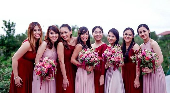 Customized Bridesmaids Dresses by White Label Bridal - 020