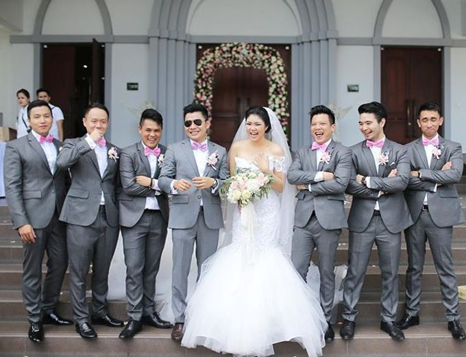 Andrew & Jessica Wedding by Sofitel Bali Nusa Dua Beach Resort - 004