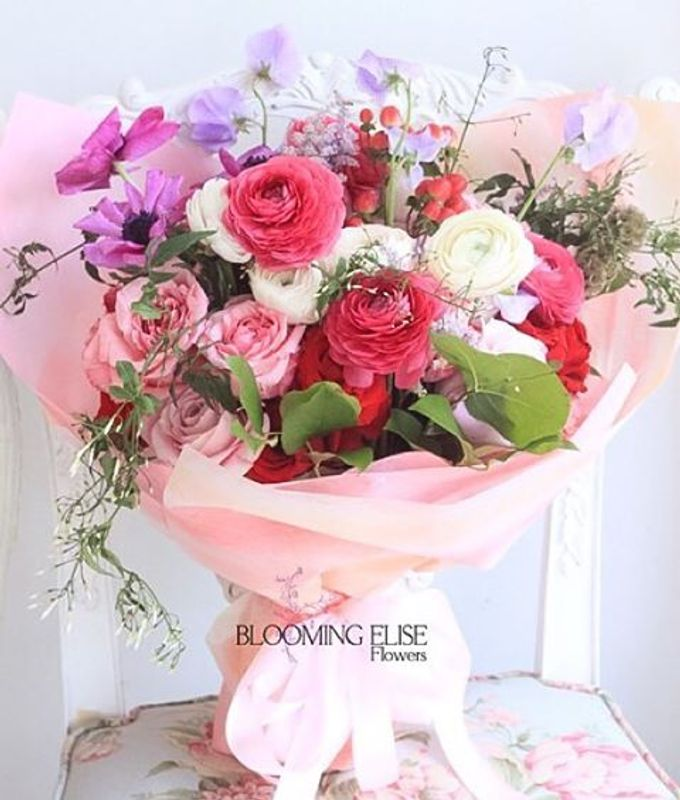 Flower Bouquets by Blooming Elise Flowers - 006