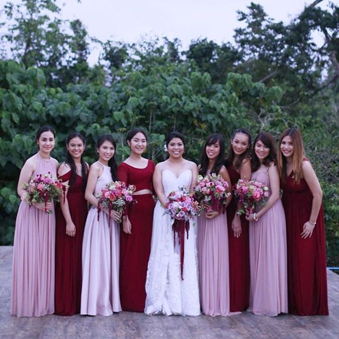Customized Bridesmaids Dresses by White Label Bridal - 018