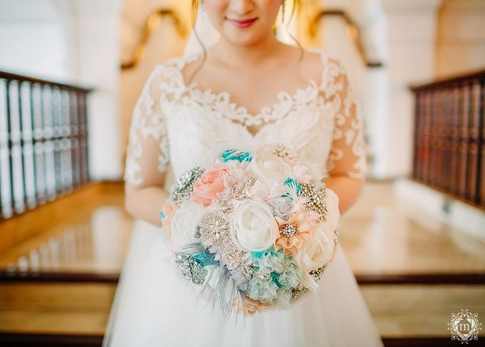Tiffany Blue and Lace in Manila Hotel by Ruffa and Mike Photography - 017