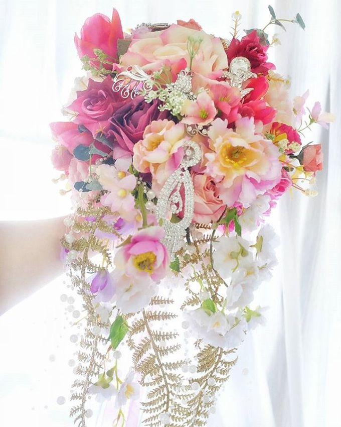 CHARME FAUX BOUQUET by LUX floral design - 023
