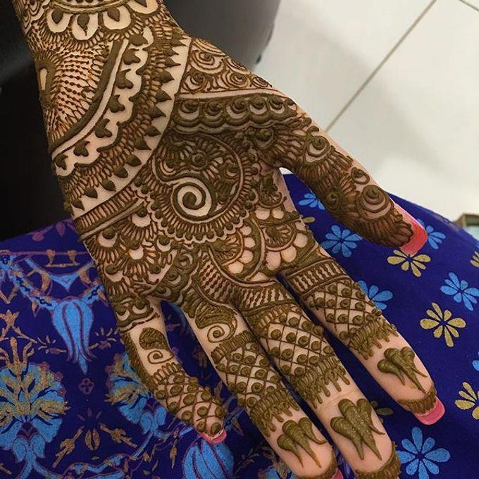 Bridal Henna - Intricate by Nakreze Mehndi - 029