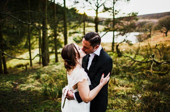 Weddings by Upper House Hayfield - 017