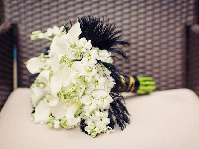 Bridal Hand Bouquets by Sing See Soon - 008