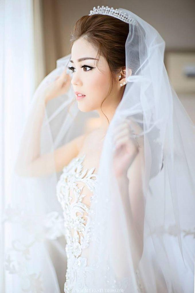 WEDDING DAY OF MICHAEL & FRANCESS by Fedya Make Up Artist - 006