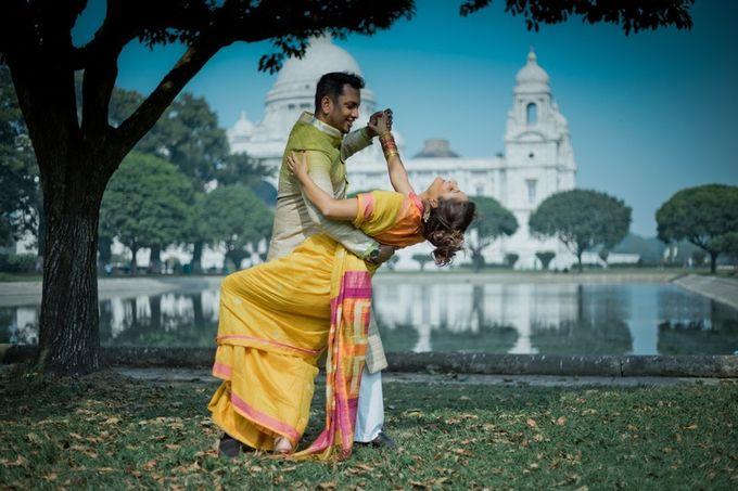 Pre Wedding Shoot in Victorian Kolkata by Visual Indigo Photography - 002