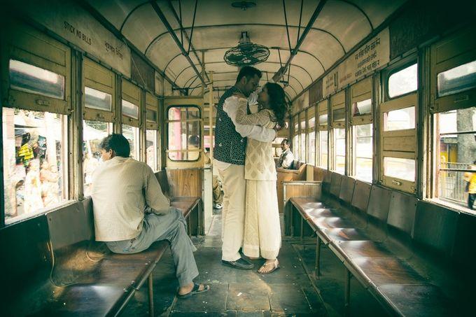Pre Wedding Shoot in Victorian Kolkata by Visual Indigo Photography - 004
