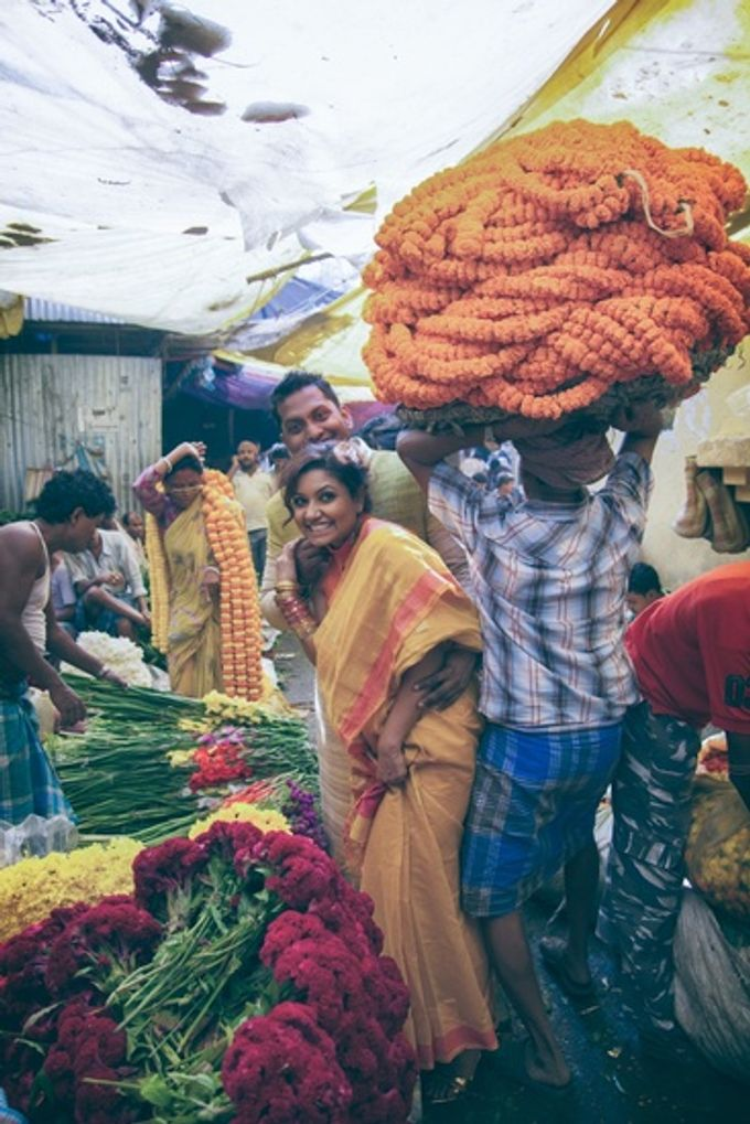 Pre Wedding Shoot in Victorian Kolkata by Visual Indigo Photography - 005