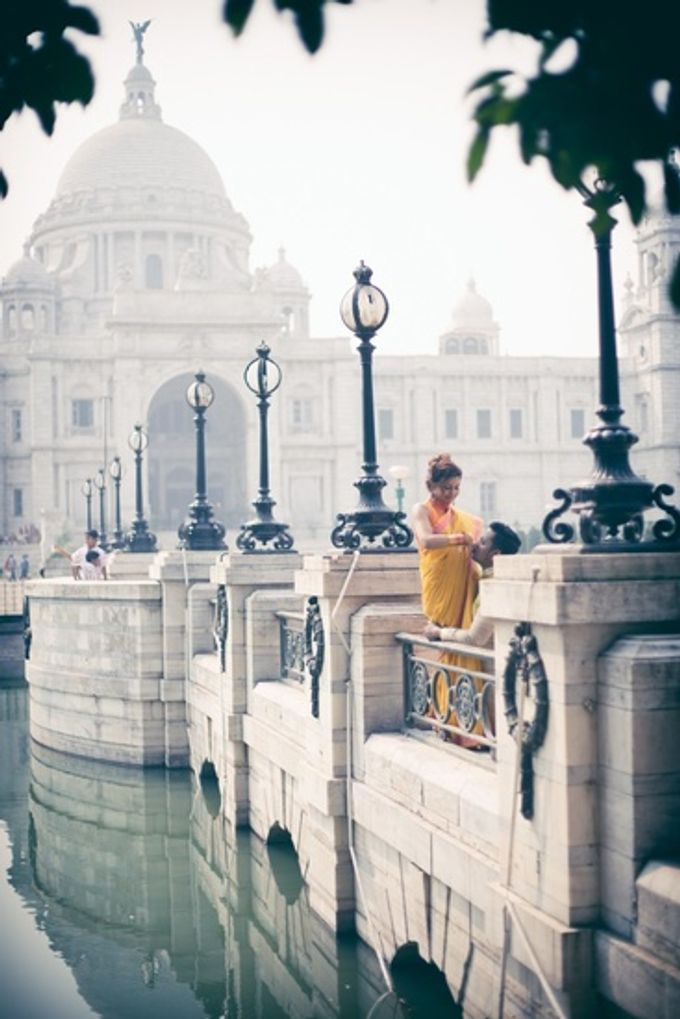 Pre Wedding Shoot in Victorian Kolkata by Visual Indigo Photography - 008