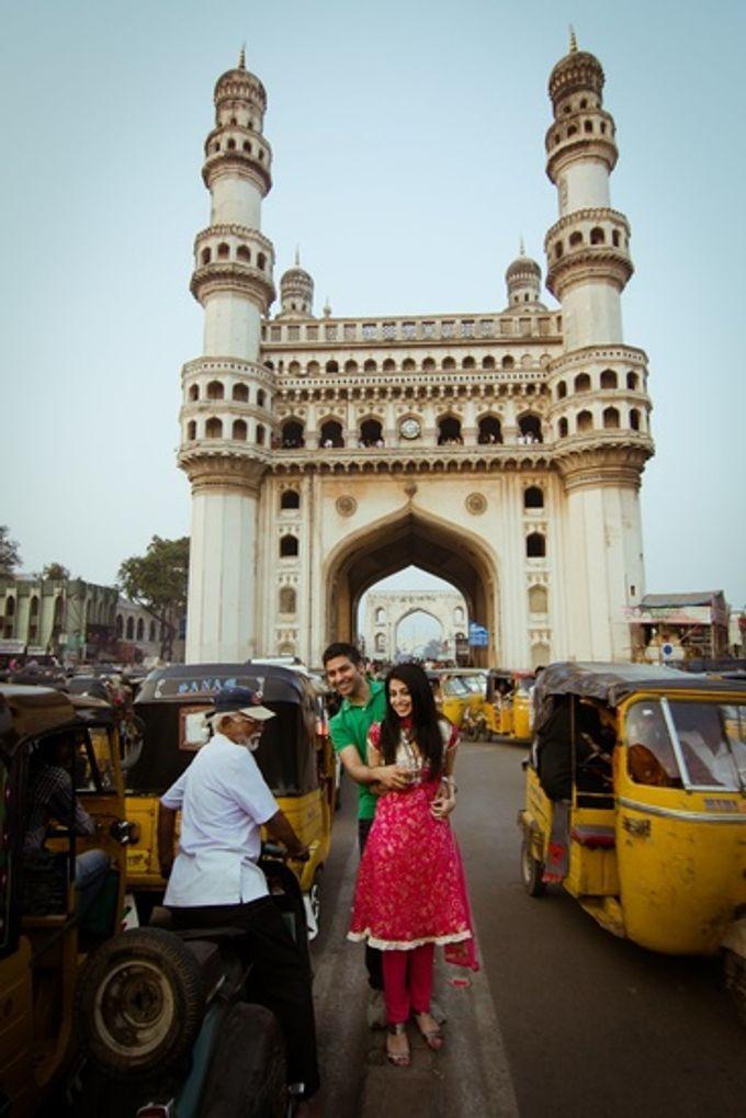 Pre Wedding shoot in the City of the Nizams by Visual Indigo Photography - 013
