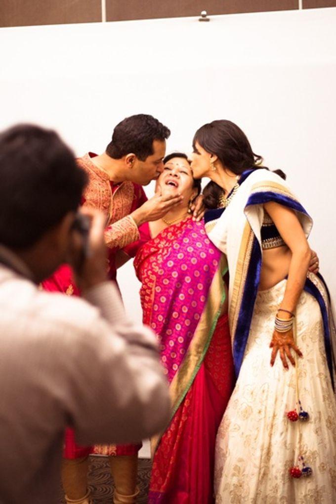 Elegant Wedding in Bangalore by Visual Indigo Photography - 006