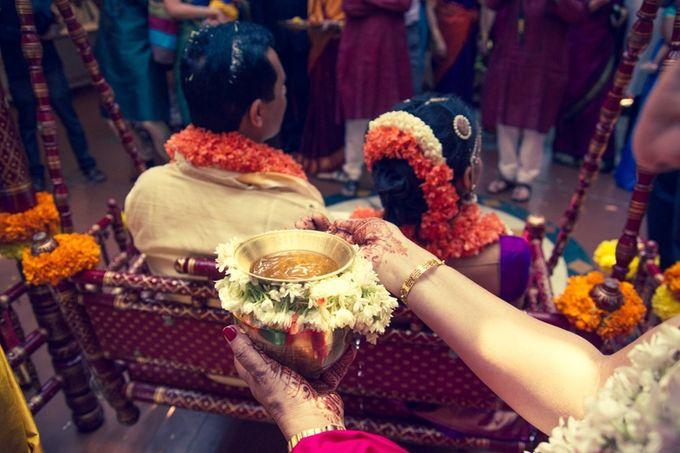 Elegant Wedding in Bangalore by Visual Indigo Photography - 011