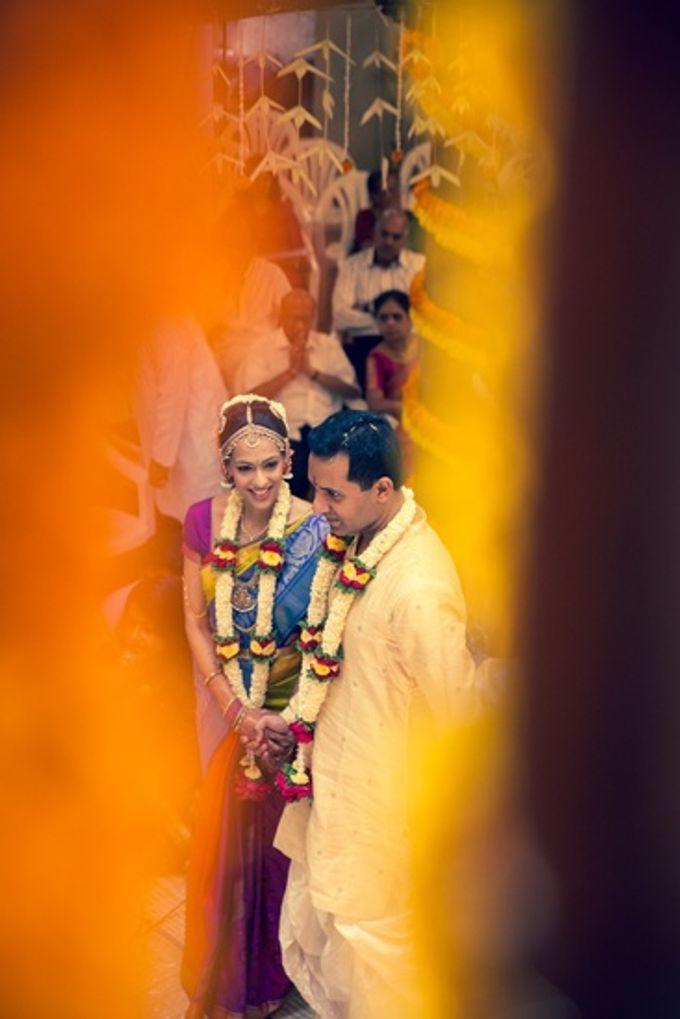 Elegant Wedding in Bangalore by Visual Indigo Photography - 013