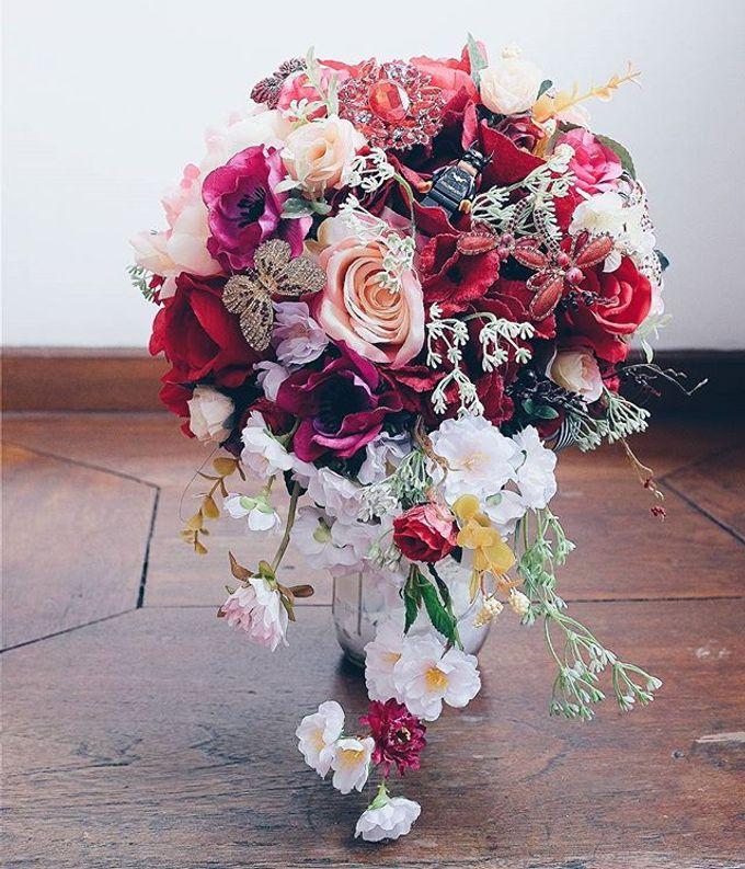 CHARME FAUX BOUQUET by LUX floral design - 020