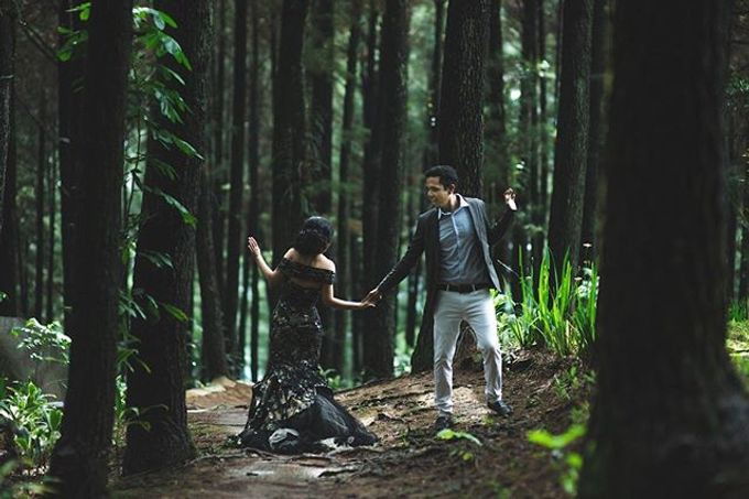 Eduardo Margareta Prewedding by Imelda Hudiyono Bride - 002