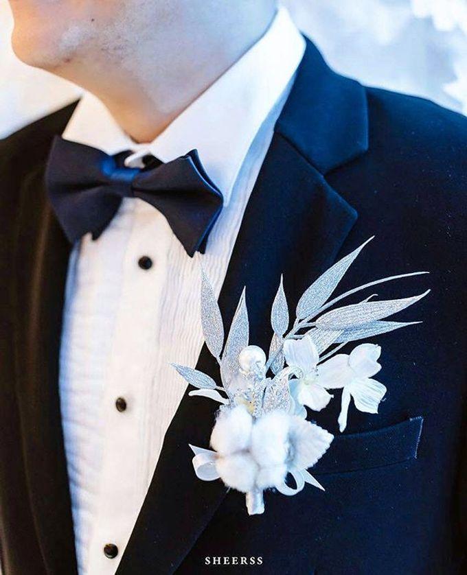CHARME FAUX BOUQUET by LUX floral design - 016