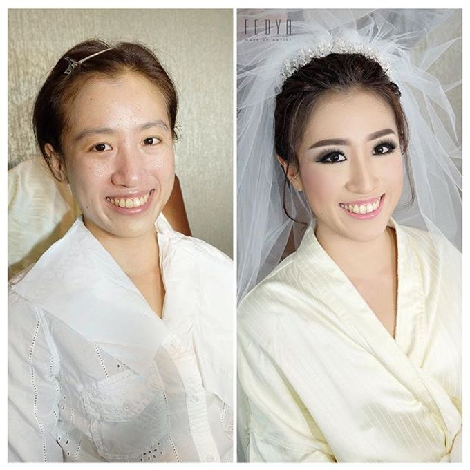 Before - After ( 2 )  by Fedya Make Up Artist - 008