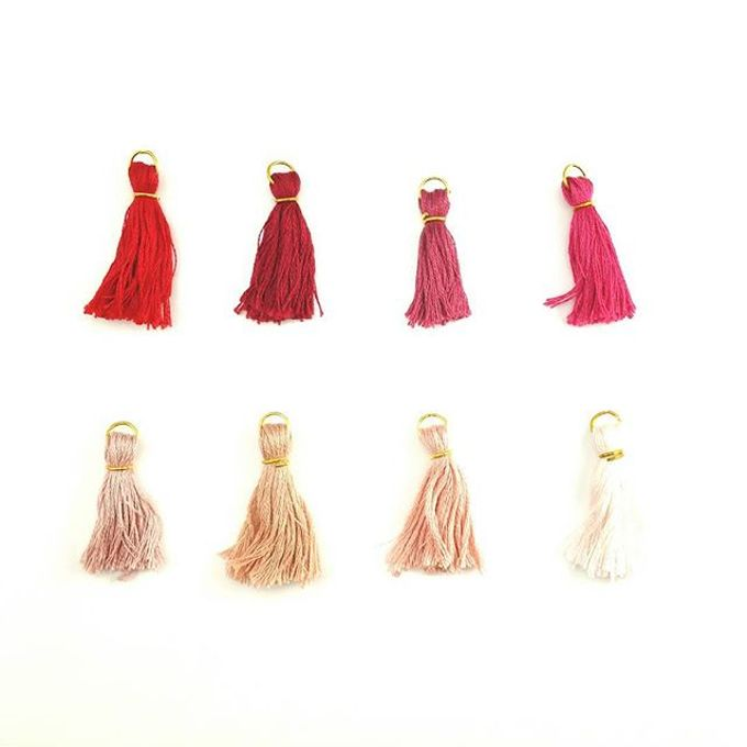 Customized Tassel Necklaces by Laurel Town - 003