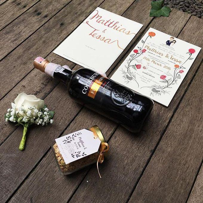 Tessa - Matthias Hillside Wedding by Bozza Event Organizer - 002